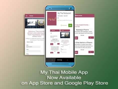 My Thai Restaurant App