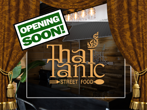 Thai Tanic Street Food in Sausalito Opening Soon
