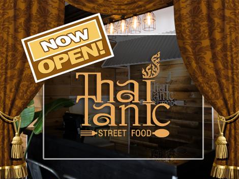 ThaiTanic Street Food Now Open in Sausalito!