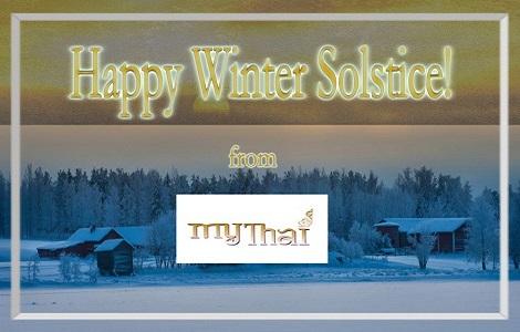 Happy Winter Solstice from My Thai Restaurant!