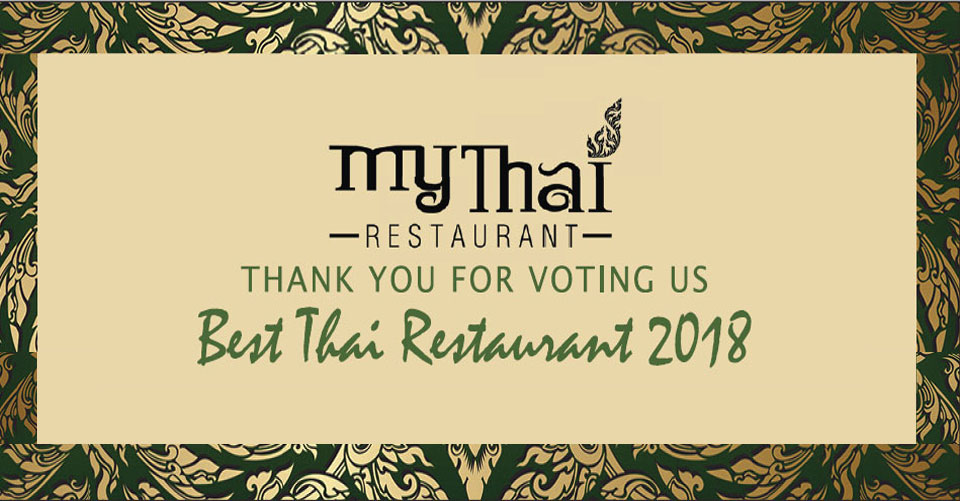 My Thai voted Best Thai Restaurant in Marin