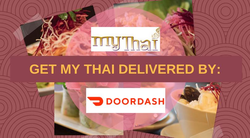 My Thai delivery through DoorDash