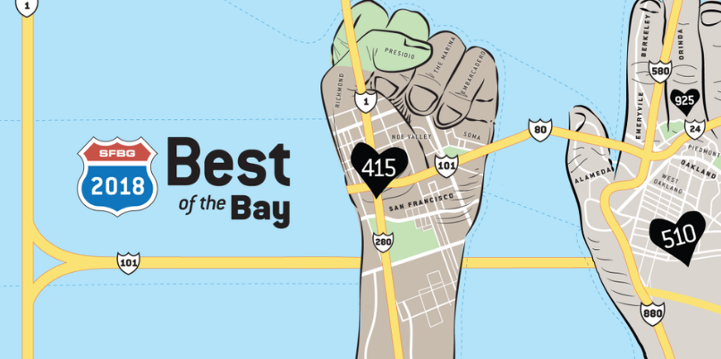 Go Vote… for Best Of The Bay 2018