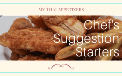 Appetizers: Chef's Suggestion