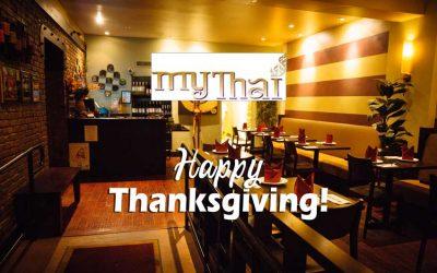 Thanksgiving at My Thai