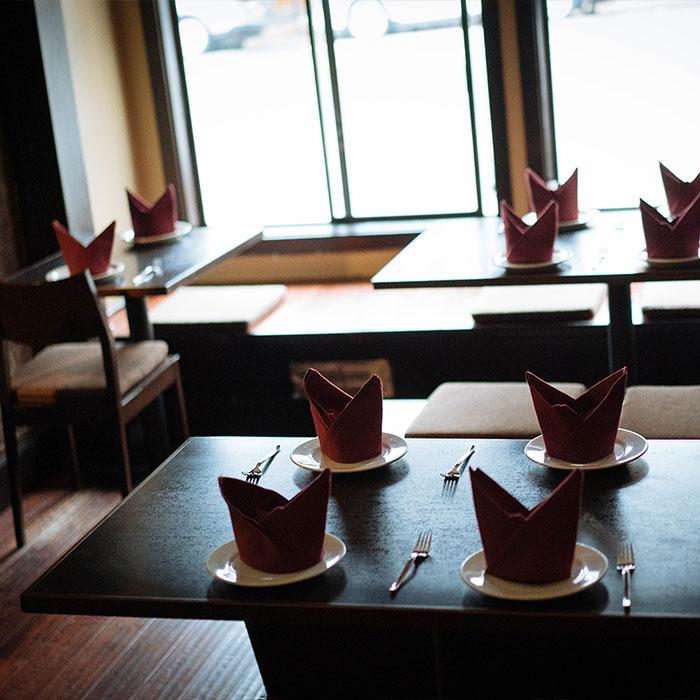 Inner table setting