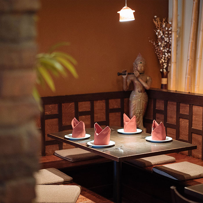 My Thai table setting