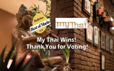 My Thai wins Best of Marin 2020