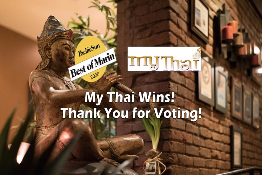 My Thai wins Best of Marin 2020