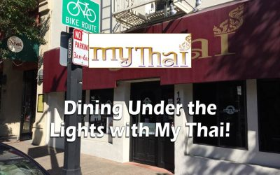 Dining Under the Lights with My Thai