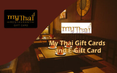 Double The Fun with Discounted My Thai Gift Cards