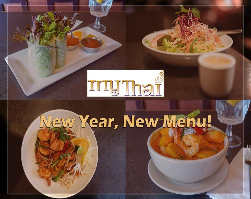 New Menu at My Thai