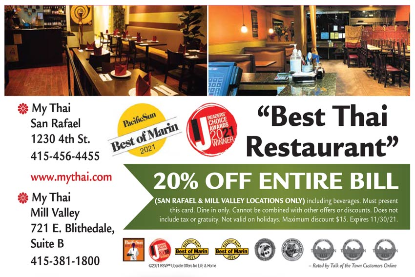 My Thai - 20% Off - Coupon